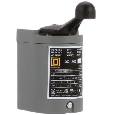Square D 2601ag2 Reversing Drum Switch 600vac 250vdc