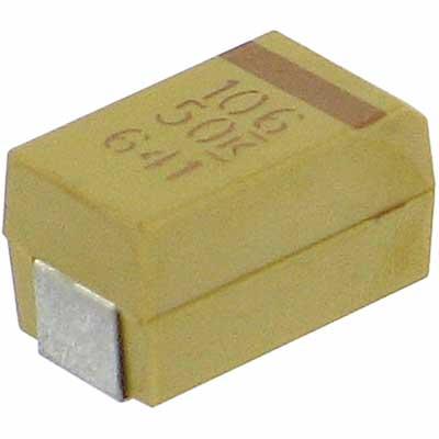 KEMET T491X106K050AT
