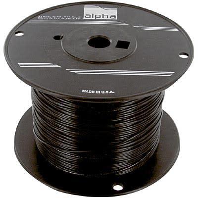 Alpha Wire 3051 BK001