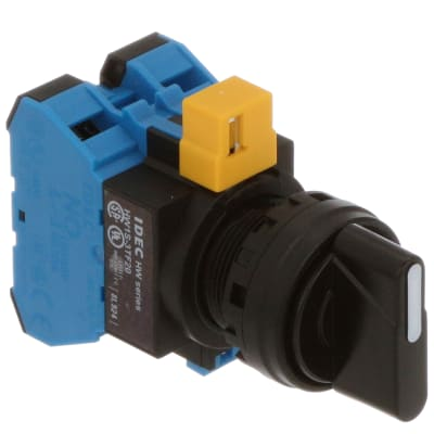 IDEC Corporation - HW1S-3TF20 - Switch 3 Position Selector ... on
