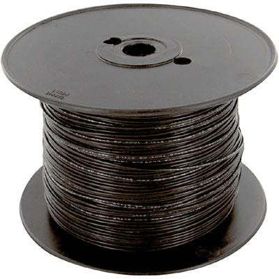 Olympic Wire   Olympic Wire And Cable Corp 353 Black Cx 1000 Hook Up Wire 20