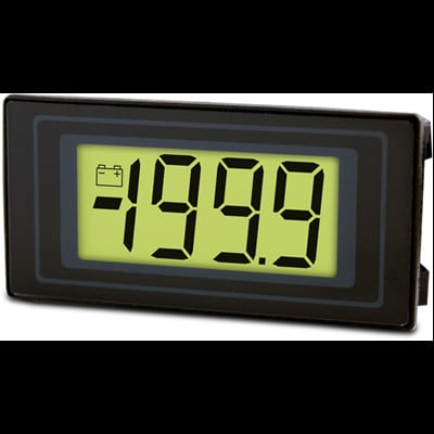 Lascar Electronics - DPM 125-BL - 3½ Digit LCD Voltmeter with LED