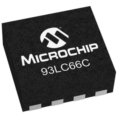 Microchip Technology Inc. 93LC66CT-I/MC
