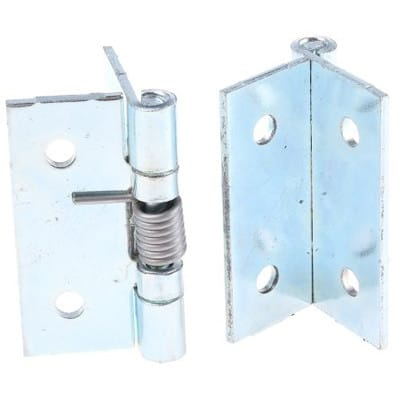 RS Pro - 7264096 - Zinc Plated Stainless Steel Hinge 50mmx50mmx2mm