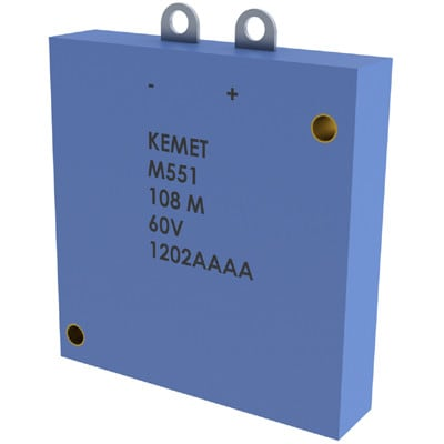 KEMET M551B228M010AH