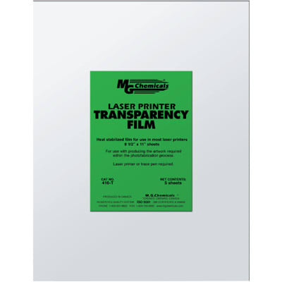 MG Chemicals - 416-T - Transparency Film Sheets