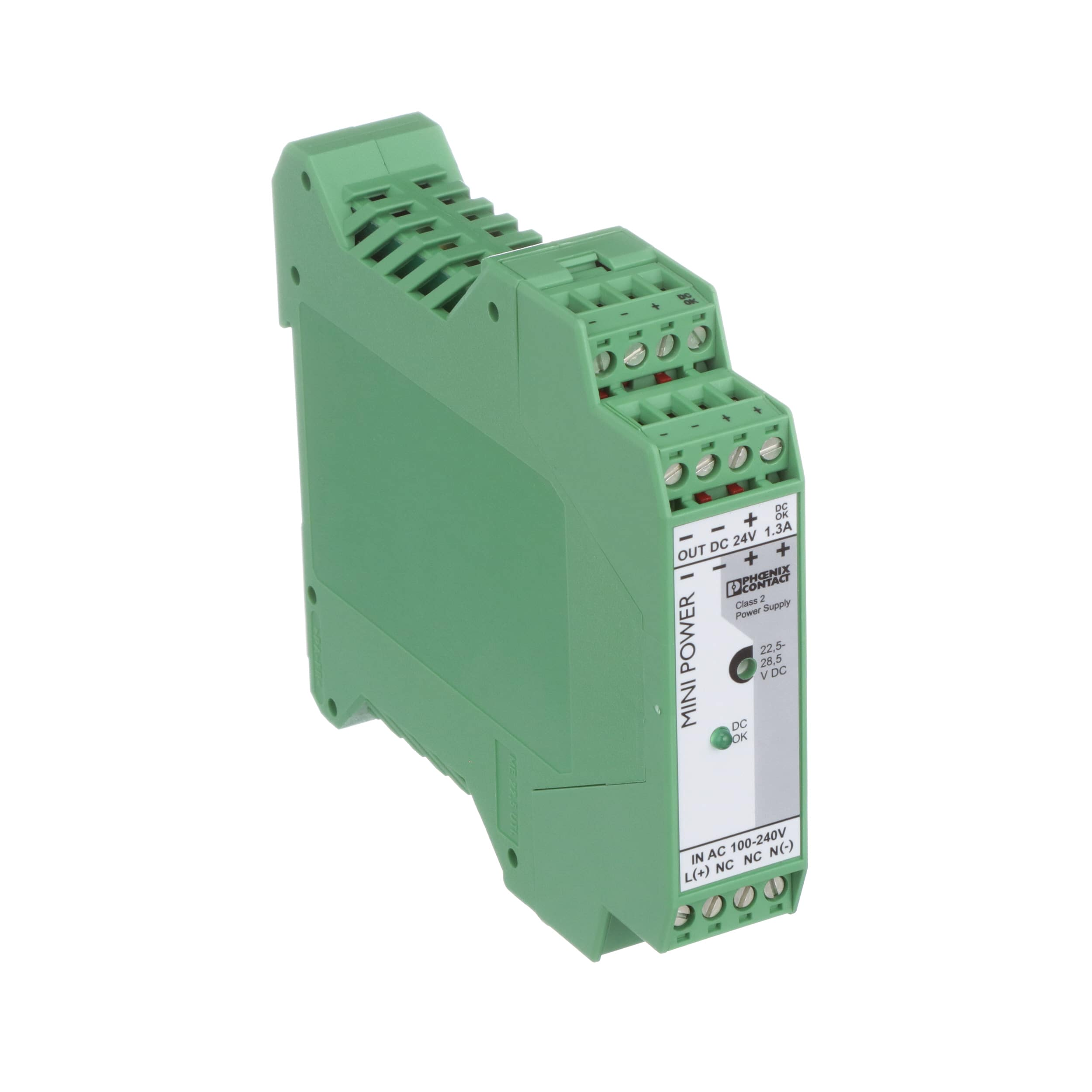 Phoenix Contact 2866446 Din Rail Mount Power Supply 24v 13a Supplies Discrete Semiconductor Devices And Circuits Input 85 264v 31w Mini Series Allied Electronics Automation