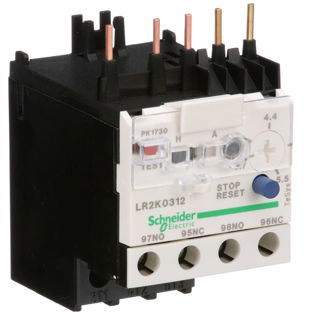 Schneider Electric Lr2k0312 Thermal Overload Relay 37 55 A Electrical Wiring Diagram Also Mag Ic Contactor With 100 W 250 V Dc 690 Ac Allied Electronics Automation