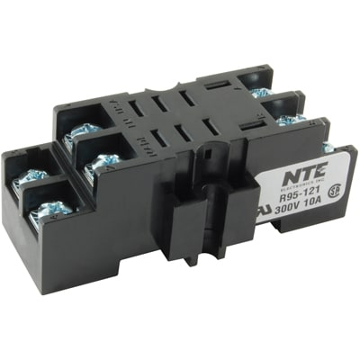Magnificent Nte Electronics Inc R95 121 Relay Socket 8 Pin 2 Pole Panel Wiring Cloud Tobiqorsaluggs Outletorg