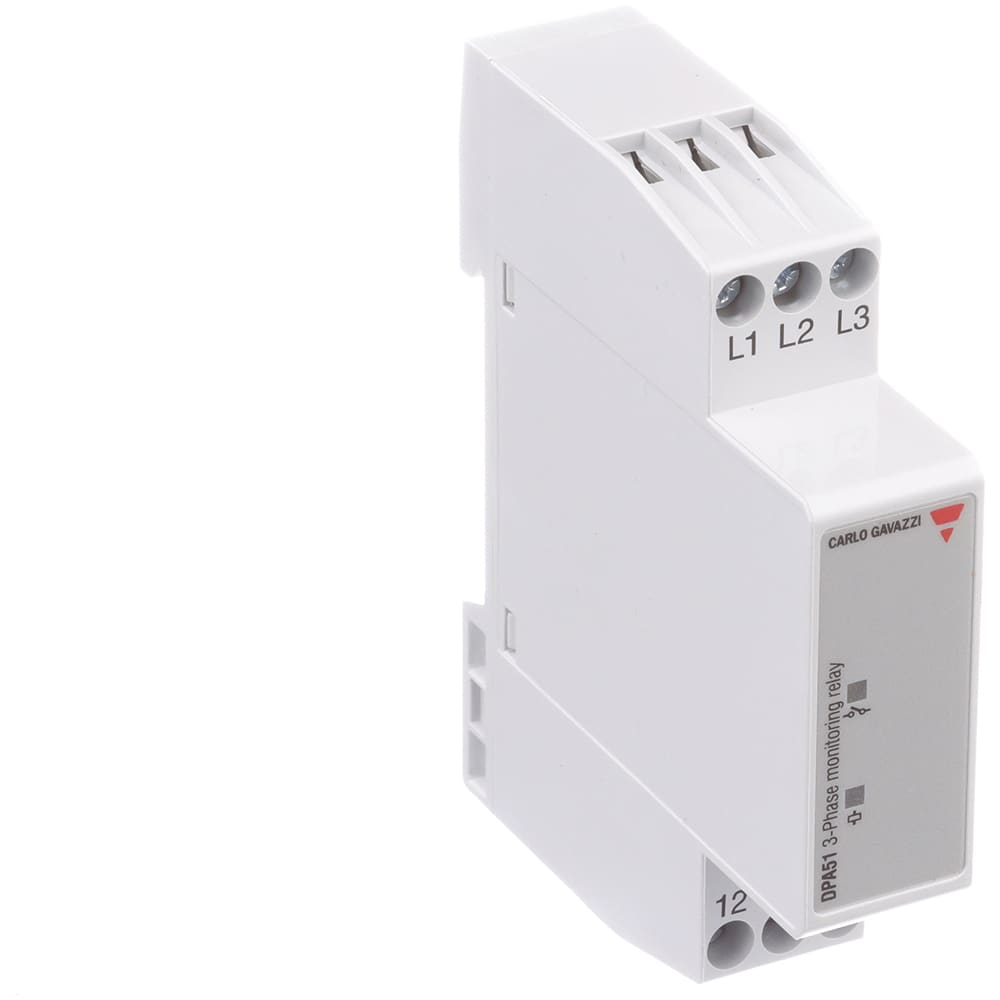 Carlo Gavazzi Inc Dpa51cm44 Relay E Mech 3 Phase Monitor And Circuit Breaker Spdt 5a Ctrl V 208 480ac Din Rail Mount Allied Electronics Automation