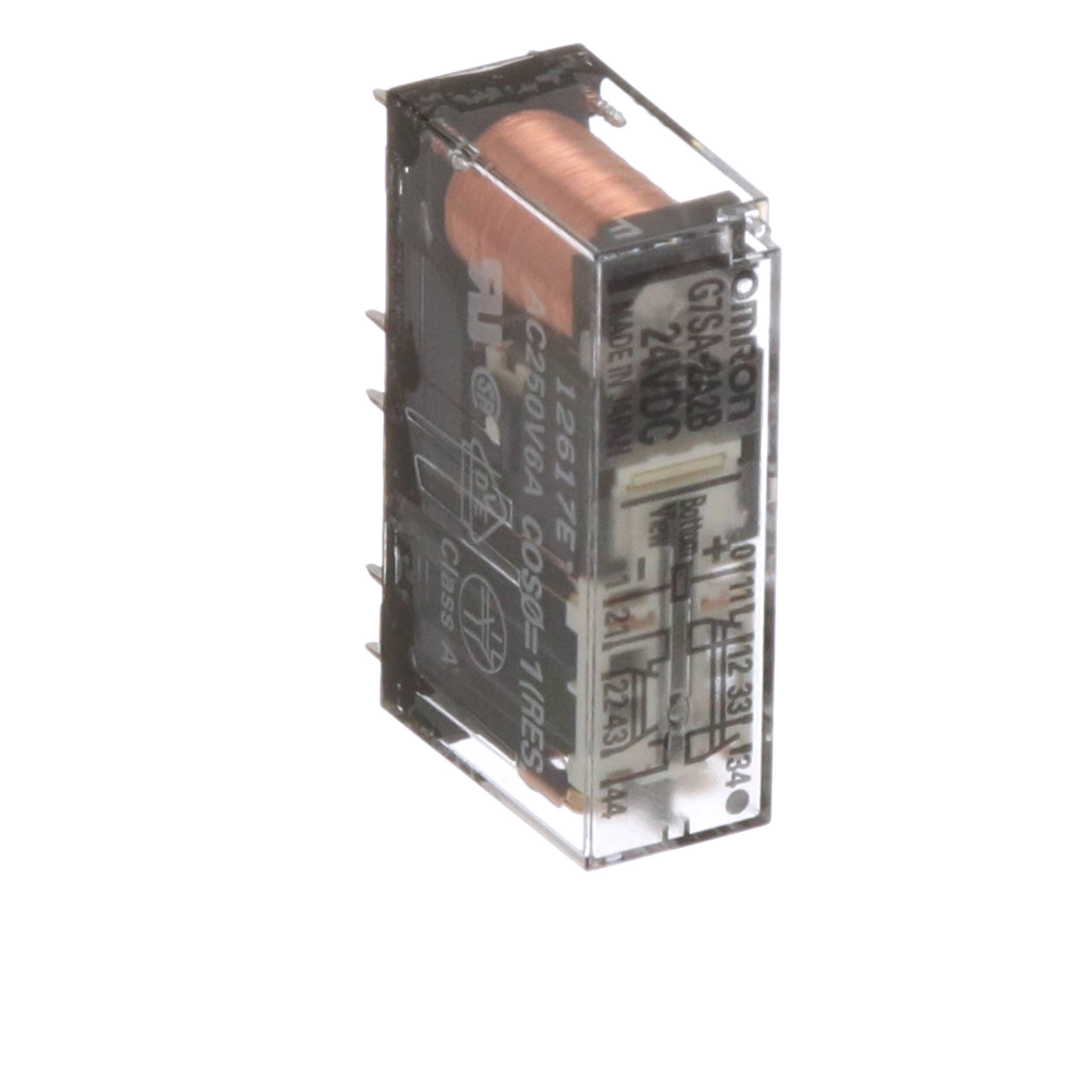G7SA2A2BDC24 Omron Vdc Relay Wiring Safety on