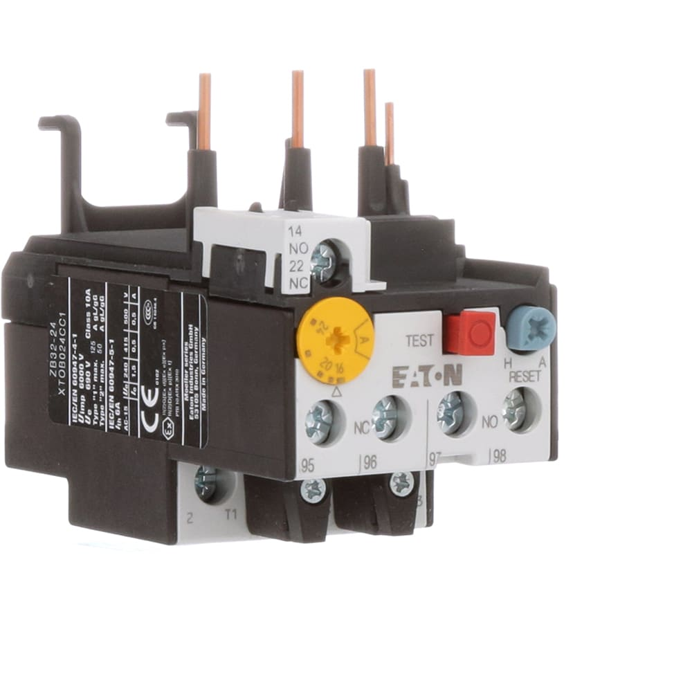 Eaton Cutler Hammer Xtob024cc1 Overload Relay Frame C Class Electrical Wiring Diagram Also Mag Ic Contactor With 10 16 24 Amp Allied Electronics Automation