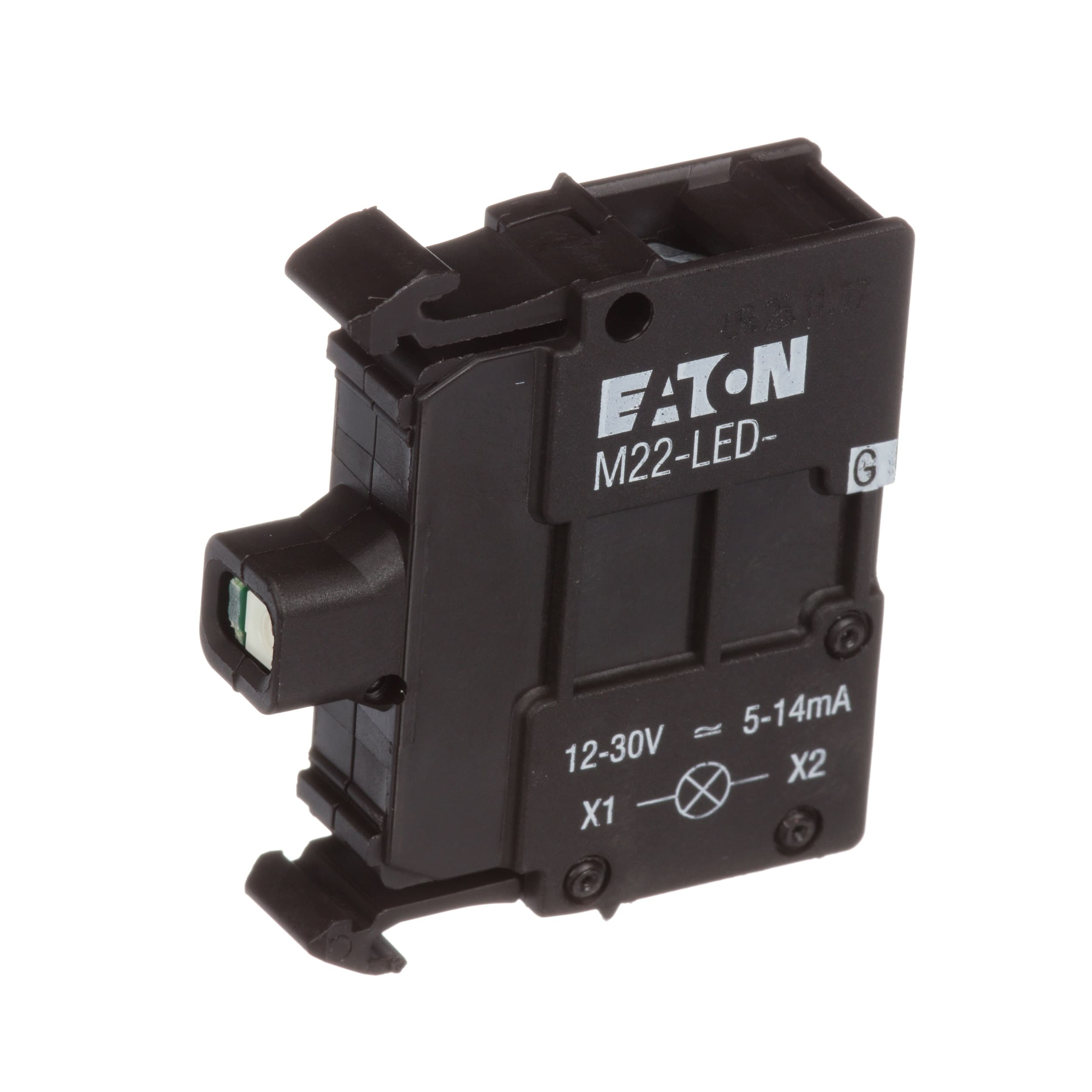 Eaton Cutler Hammer M22 Led G Light Block Green 12 Rocker Switch Spst X2 With Red Indicator Lamps 30vac Dc For Series Rmq Titan Allied Electronics Automation