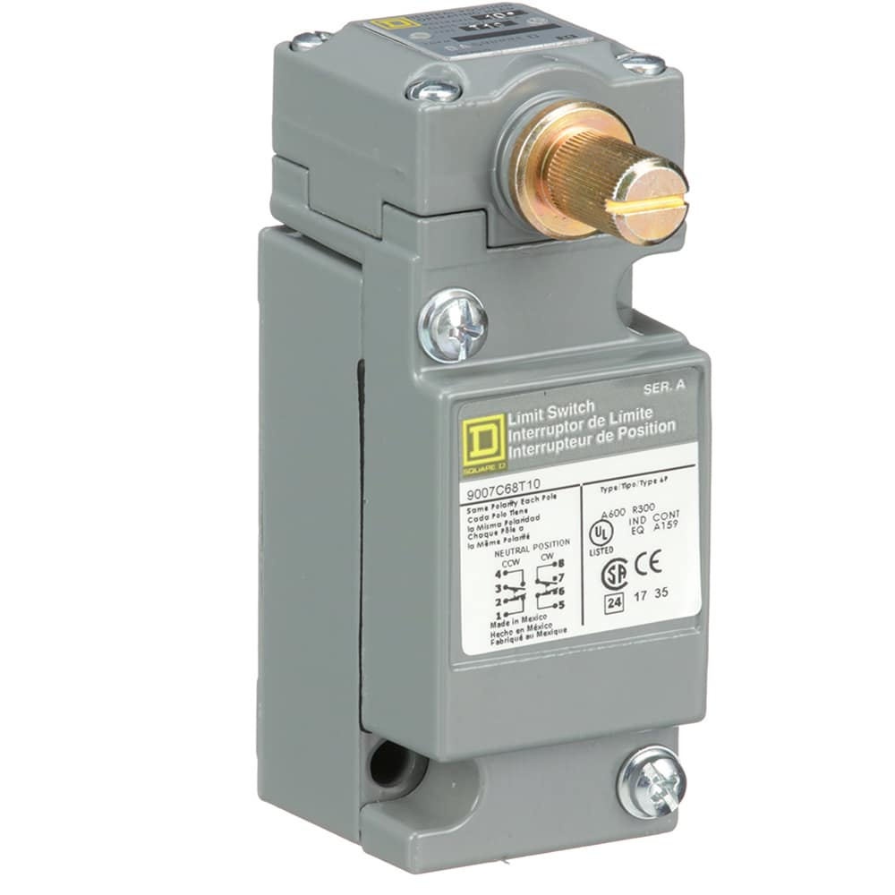 Square D 9007c68t10 Heavy Duty Rotary Limit Switch Snap Action Switches Wiring Diagram Together With Variable Resistor 2nc 2no Allied Electronics Automation