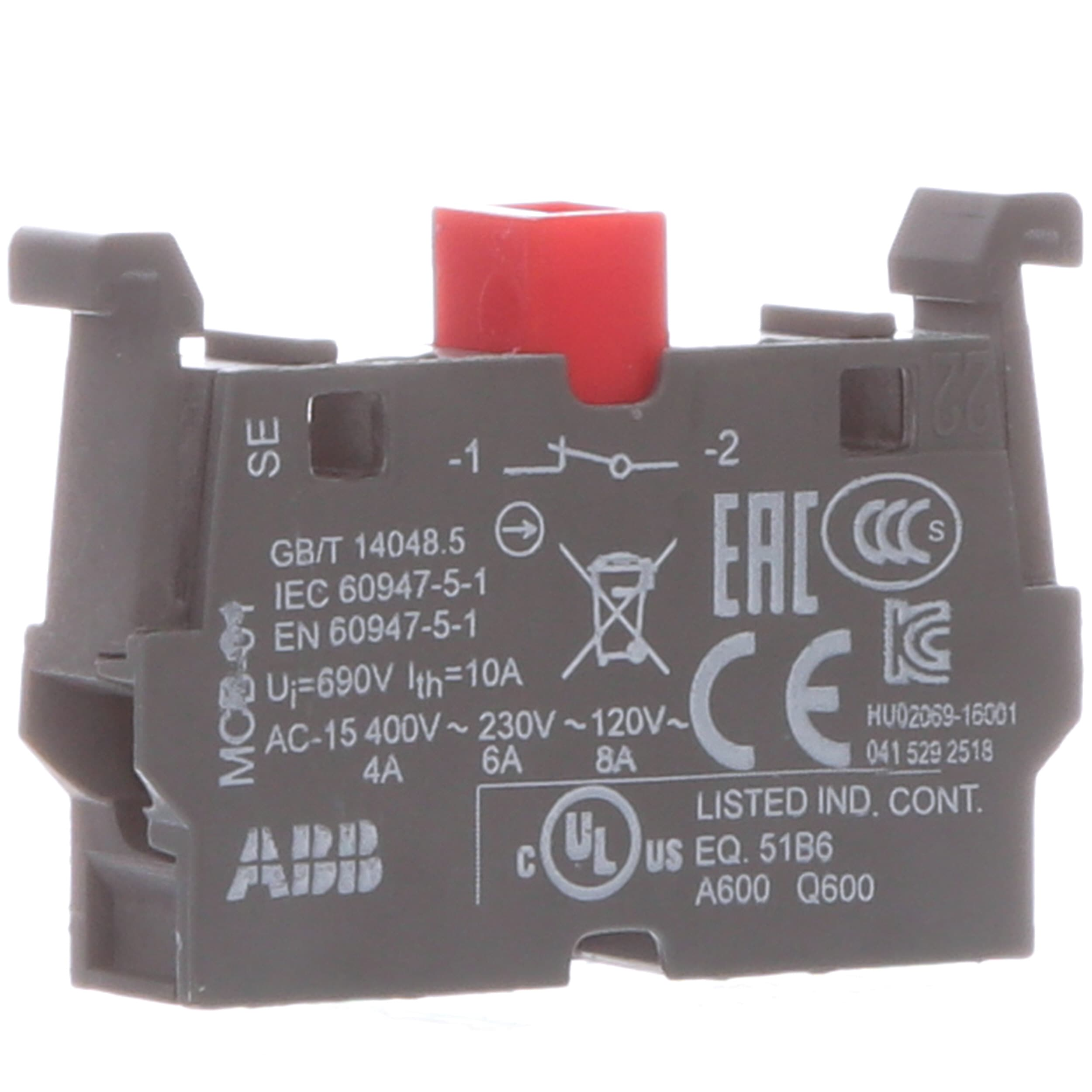 Abb Mcb 01 Contact Blk 1 Ncformerly Sk 616 001 B Allied Vdc Dip Reed Relay All Electronics Corp Automation
