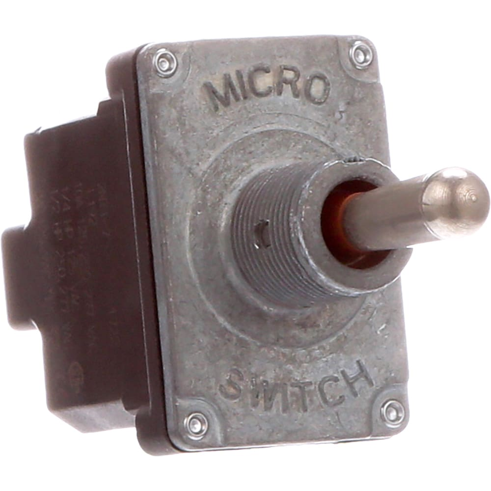 Honeywell 2nt1 7 Toggle Switch 2 Pole 3 Position Screw Hobby Circuit Miniature Pushbutton On Off Terminals Allied Electronics Automation