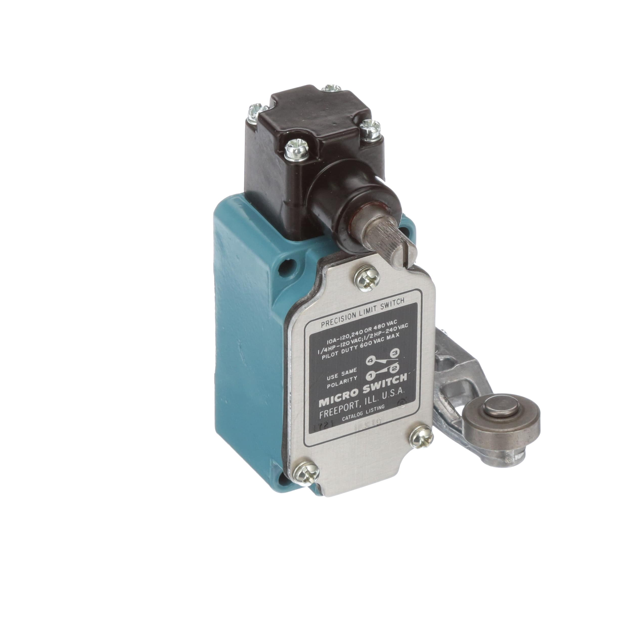 Honeywell 1ls19 Limit Switch Compact Rotary Actuated Roller Polarity Of A Dc Motor Using Dpdt Relay And Timer Lever Allied Electronics Automation