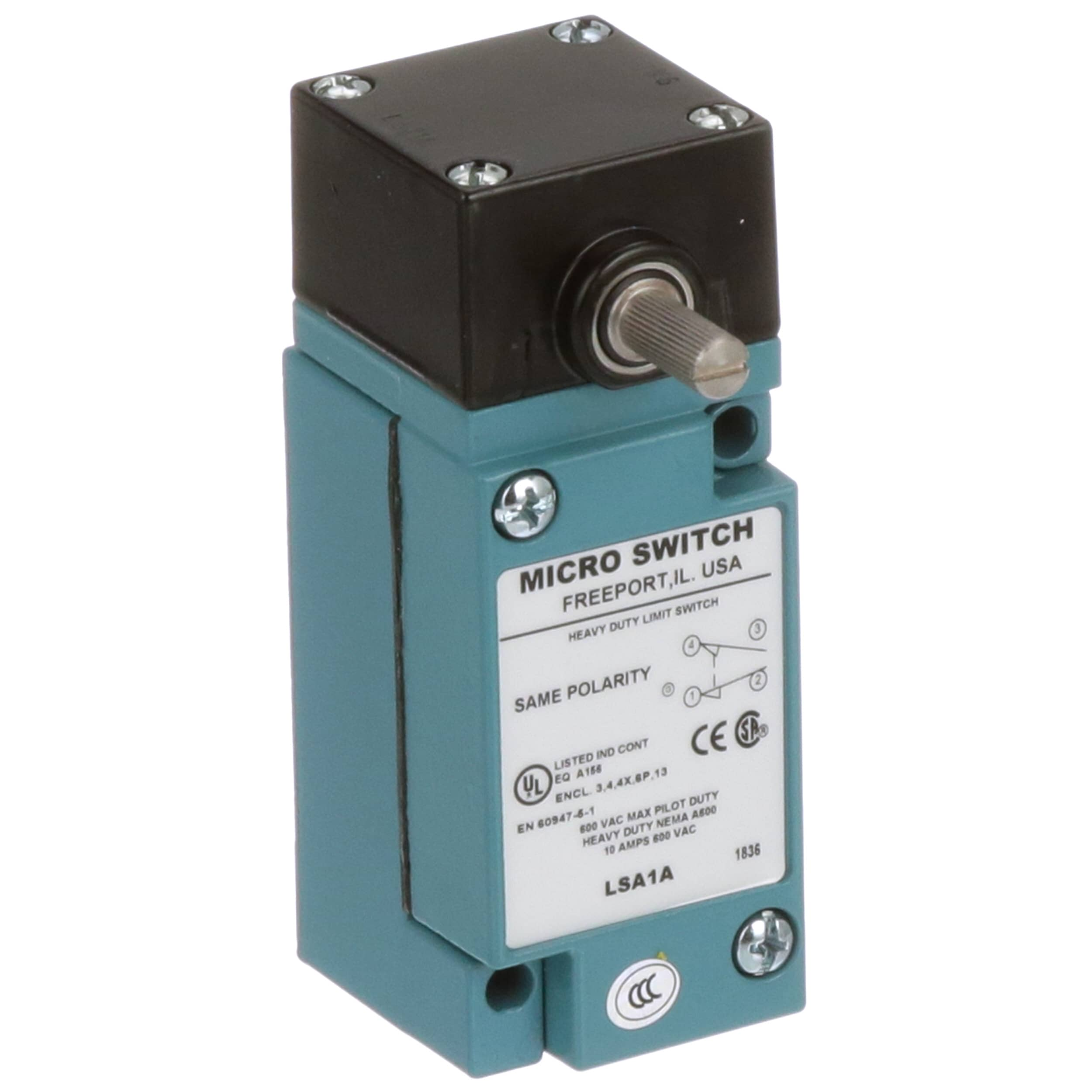 Honeywell Lsa1a Limit Switch Spdt 600vac 10a Siderotary Diagram Silver Contacts Hdls Series Allied Electronics Automation