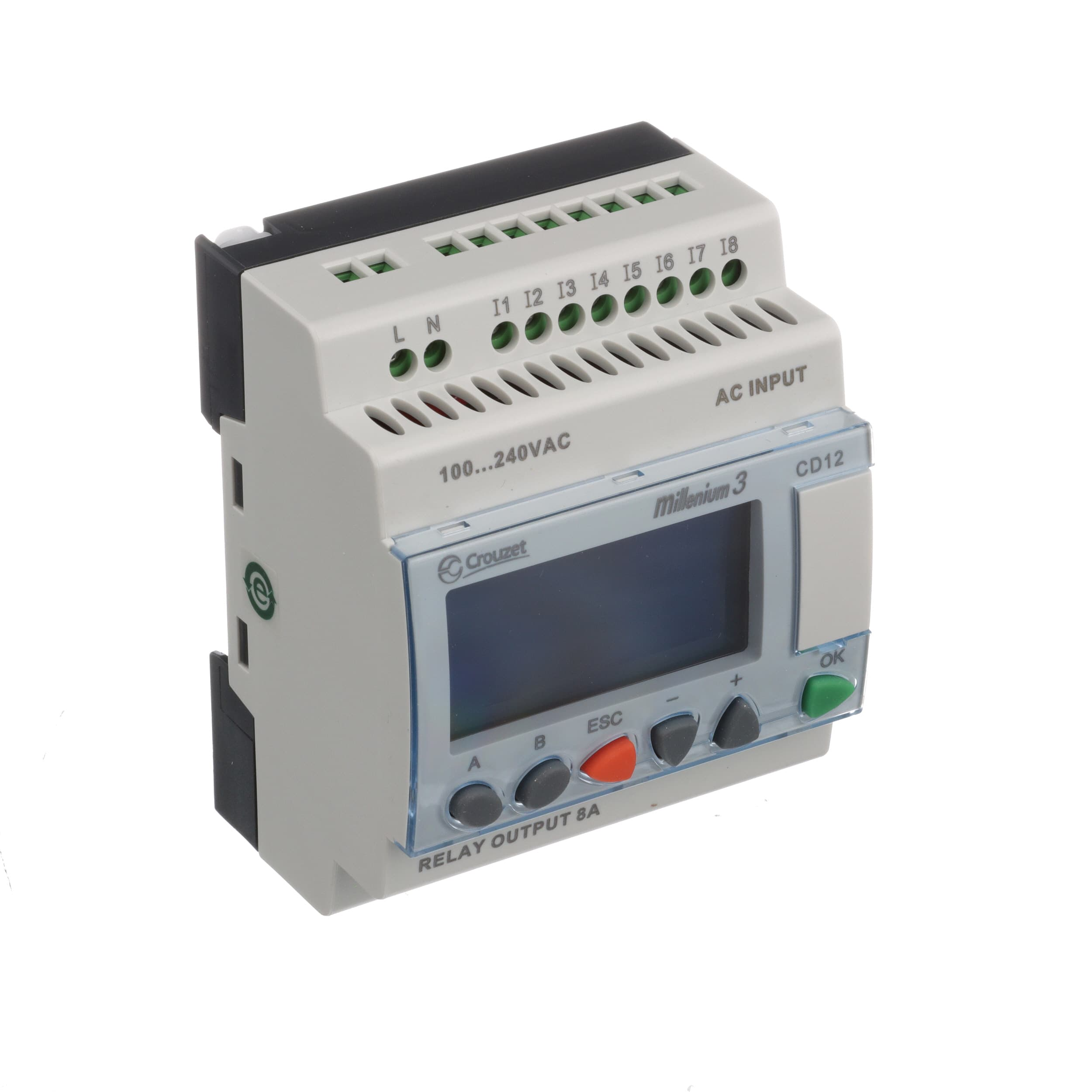 Crouzet 88974043 Controller Plc Sup V 100 240ac 8 Digital In Current Control Relay 4 Out Panel Mnt Ip20 Ip40 Allied Electronics Automation