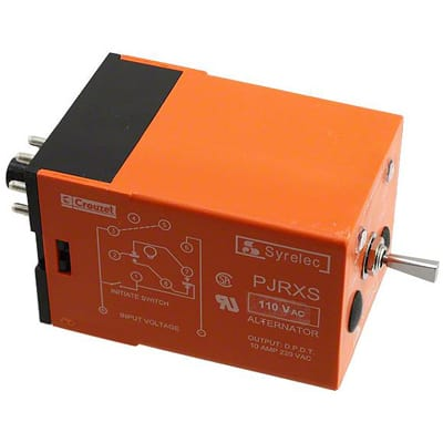 PJRXS110A A Pin Alternating Relay Wiring on