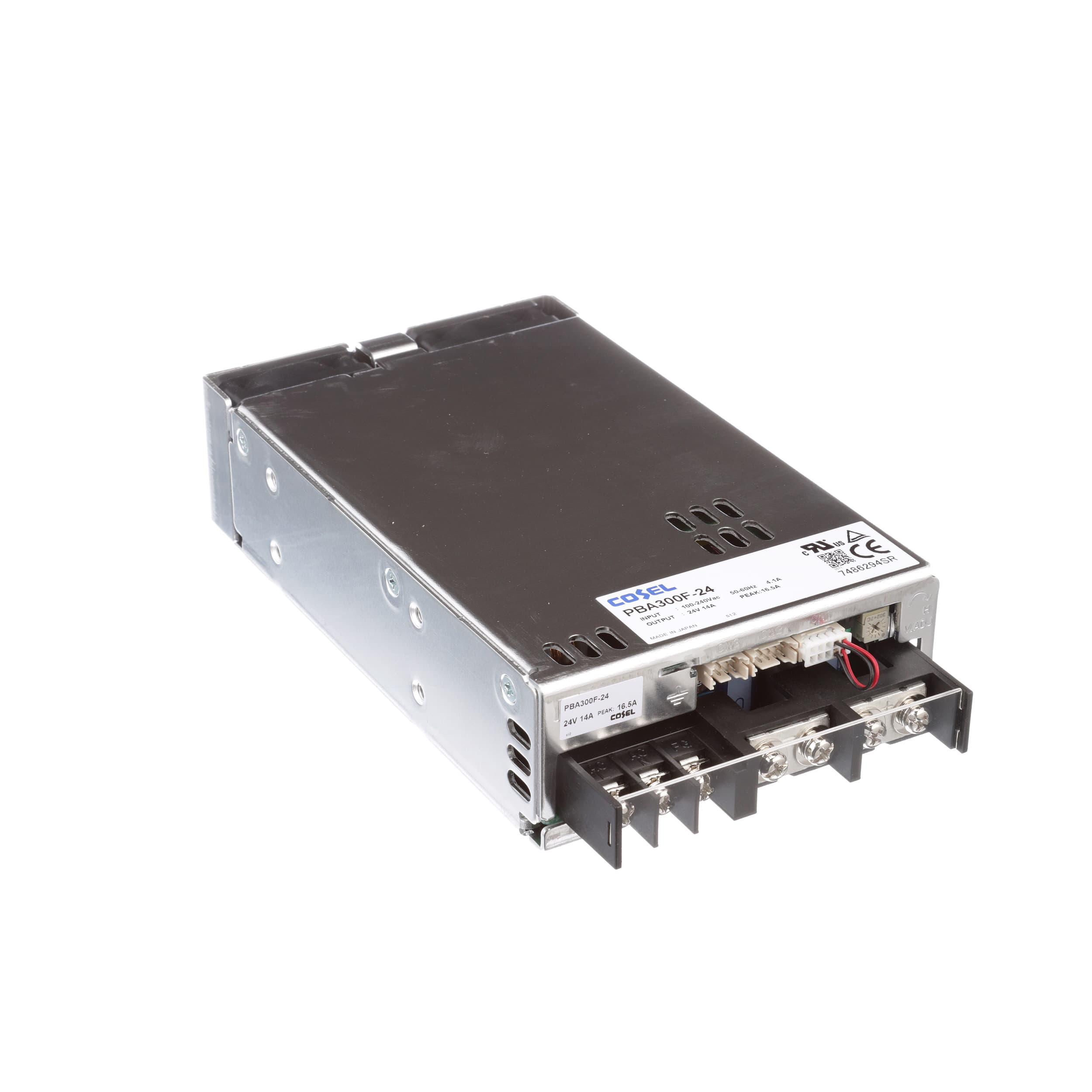 Cosel Usa Inc Pba300f 24 Power Supply Ac Dc 24v 14a 85 Vdc Dip Reed Relay All Electronics Corp 264v In Enclosed Panel Mount Pfc 336w Pba Series Allied Automation