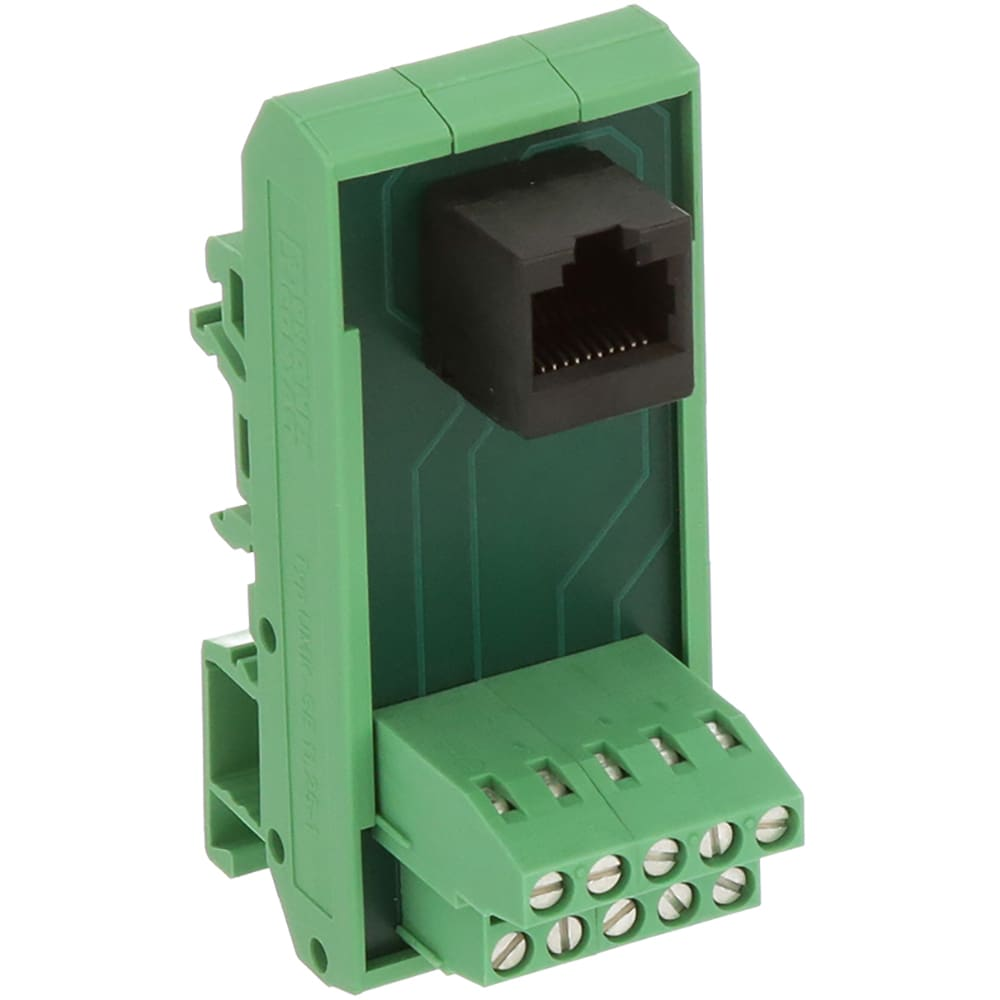 phoenix contact - 5525946 - interface modules varioface passive conv  rj11/rj45 discrete wire connections - allied electronics & automation