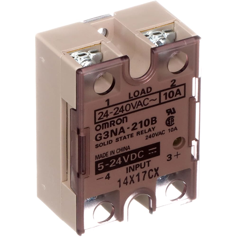 Omron Automation G3na210bdc524 Solid State Relay Genral Purpose Current Out 10a 24 240vac In 5 24vdc Allied Electronics