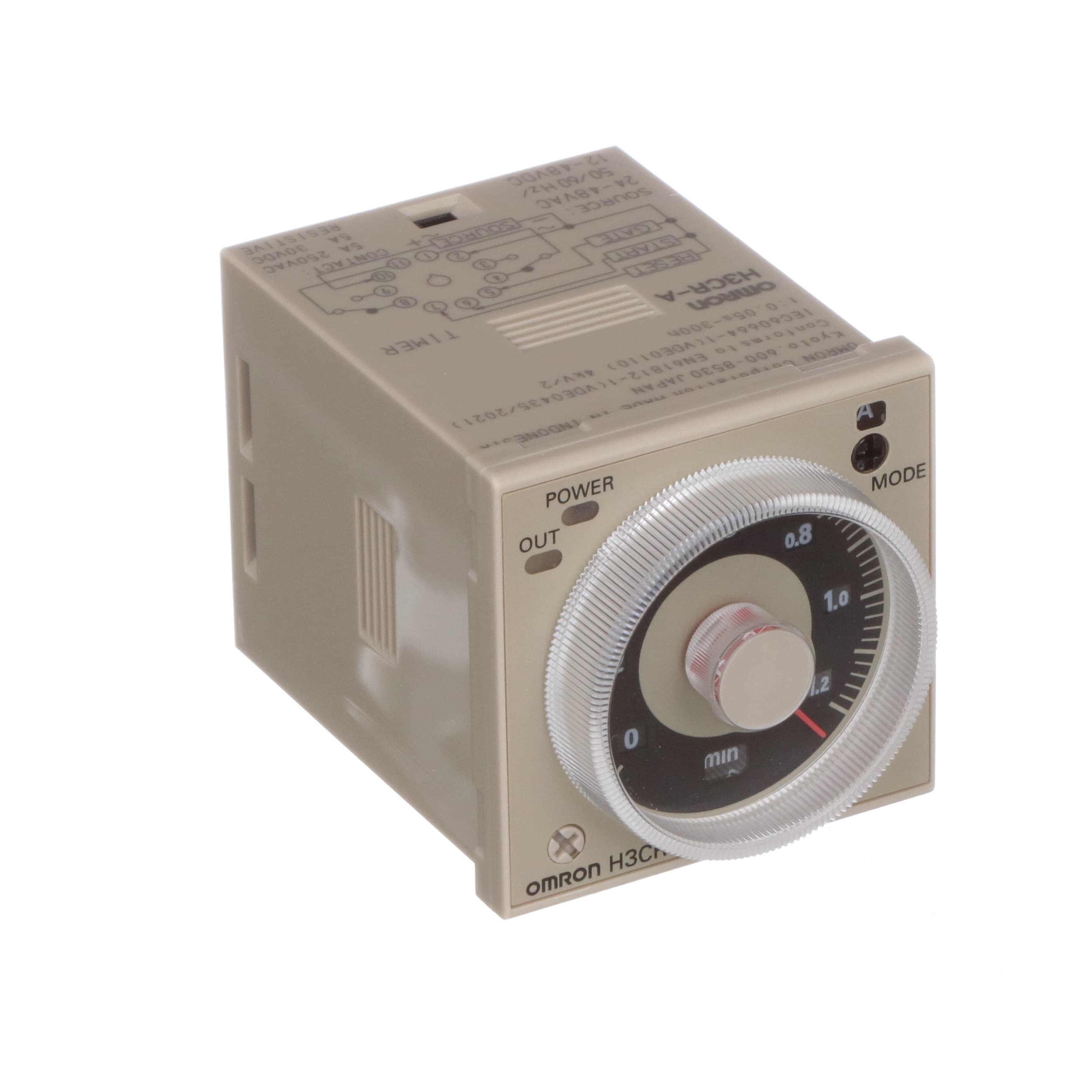 Omron Automation H3craac2448dc1248 Relay Ssr Timing On Delay Vdc Dip Reed All Electronics Corp Dpdt Cur Rtg 5 015a Ctrl V 24 48 12 48ac Dc 11 Pin Allied