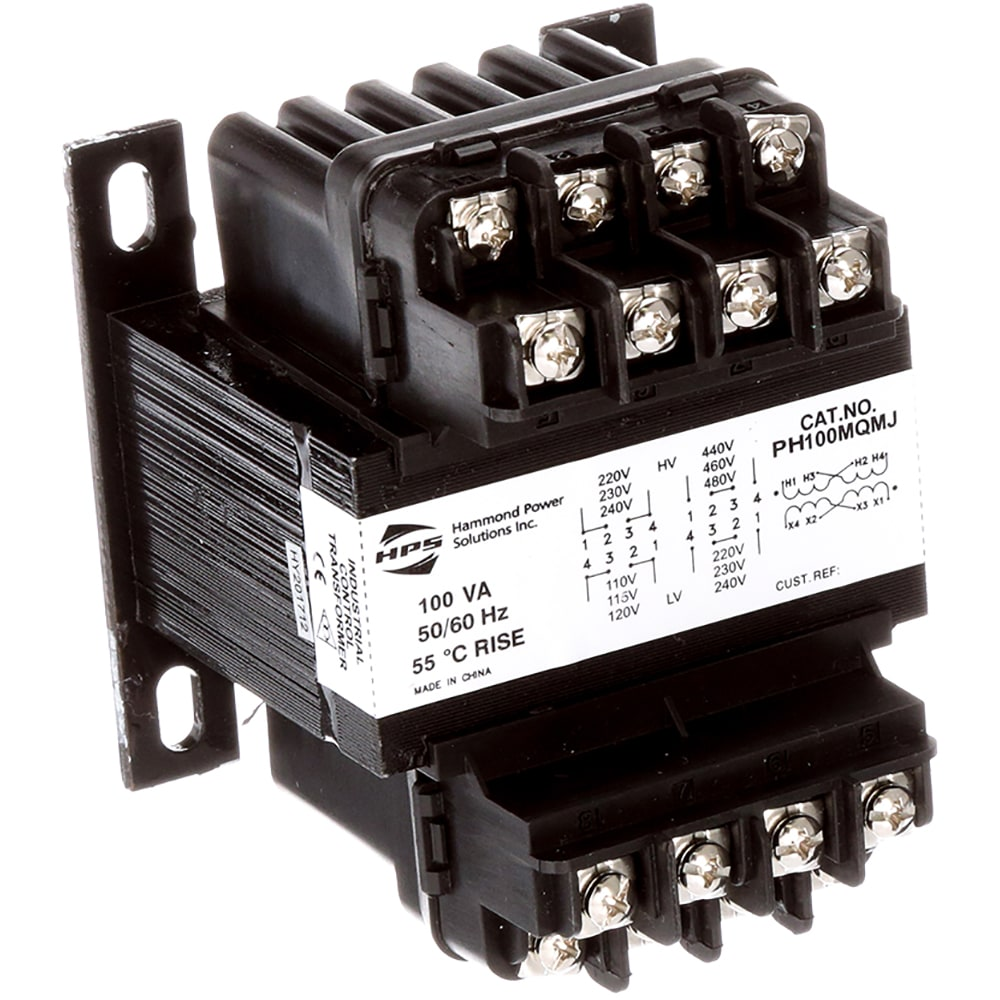 Hammond Power Solutions - PH100MQMJ - Transformer; Control; Config on 120 208 wye transformers, wiring 480 t0 120 power transformers, sola hevi-duty transformers, low voltage lighting transformers, signs to power transformers, 4160v to 120v transformers, step up and step down transformers, copper losses in transformers, ge general purpose transformers, wiring three-phase variable transformer, core components transformers, wiring diagram color code for transformers, correct method of grounding transformers, wiring schematics of pole transformers, three-phase wiring utility transformers, chassis mount 12 volt transformers, wiring diagram for 480v 240v transformers,