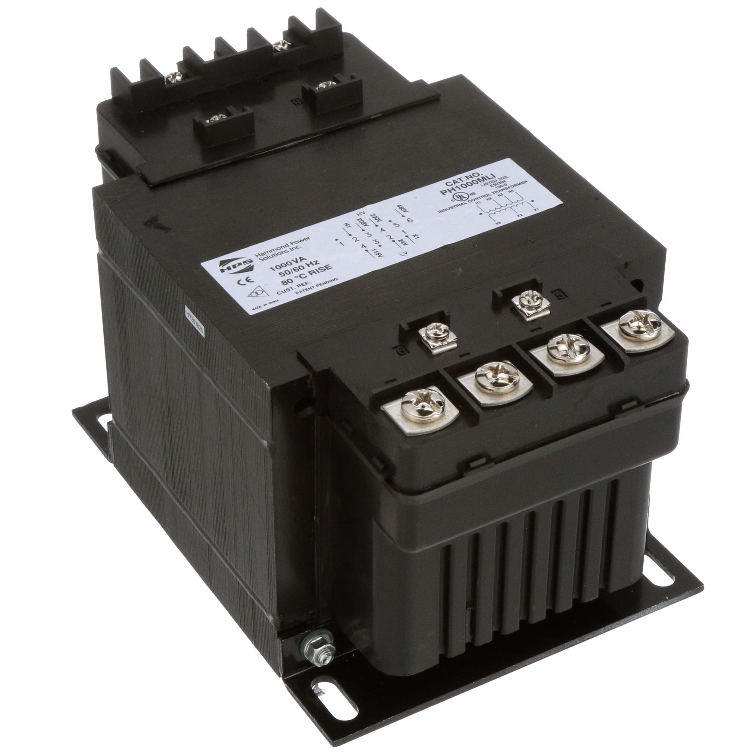 Hammond Power Solutions - PH1000MLI - Transformer; Control ... on