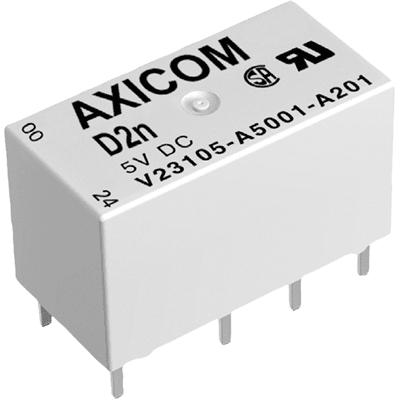 AXICOM    V23105A5005A201    Signal Relay D2n//V23105 Series, TE CONNECTIVITY
