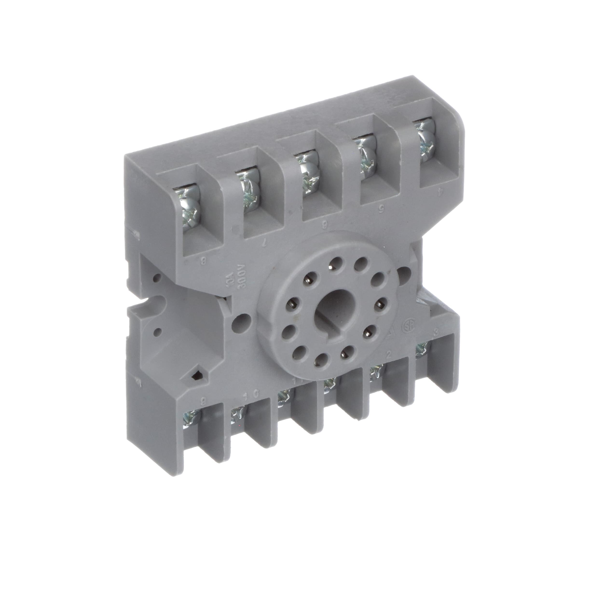 Te Connectivity 27e123 Socket Relay Screw Term 1 3 Pole Power Products Accessories Pin Plug Wiring Rohscompliant Elv Compliant 11 Octal Allied Electronics Automation