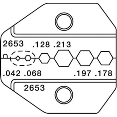 Paladin Tools - PA2653 - Die Set