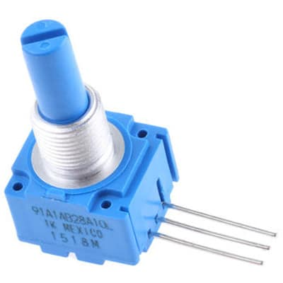 Admirable Bourns 91A1A B28 A10L Potentiometer Rotary 1K Ohm 5 8 Sq St Wiring Cloud Hisonuggs Outletorg