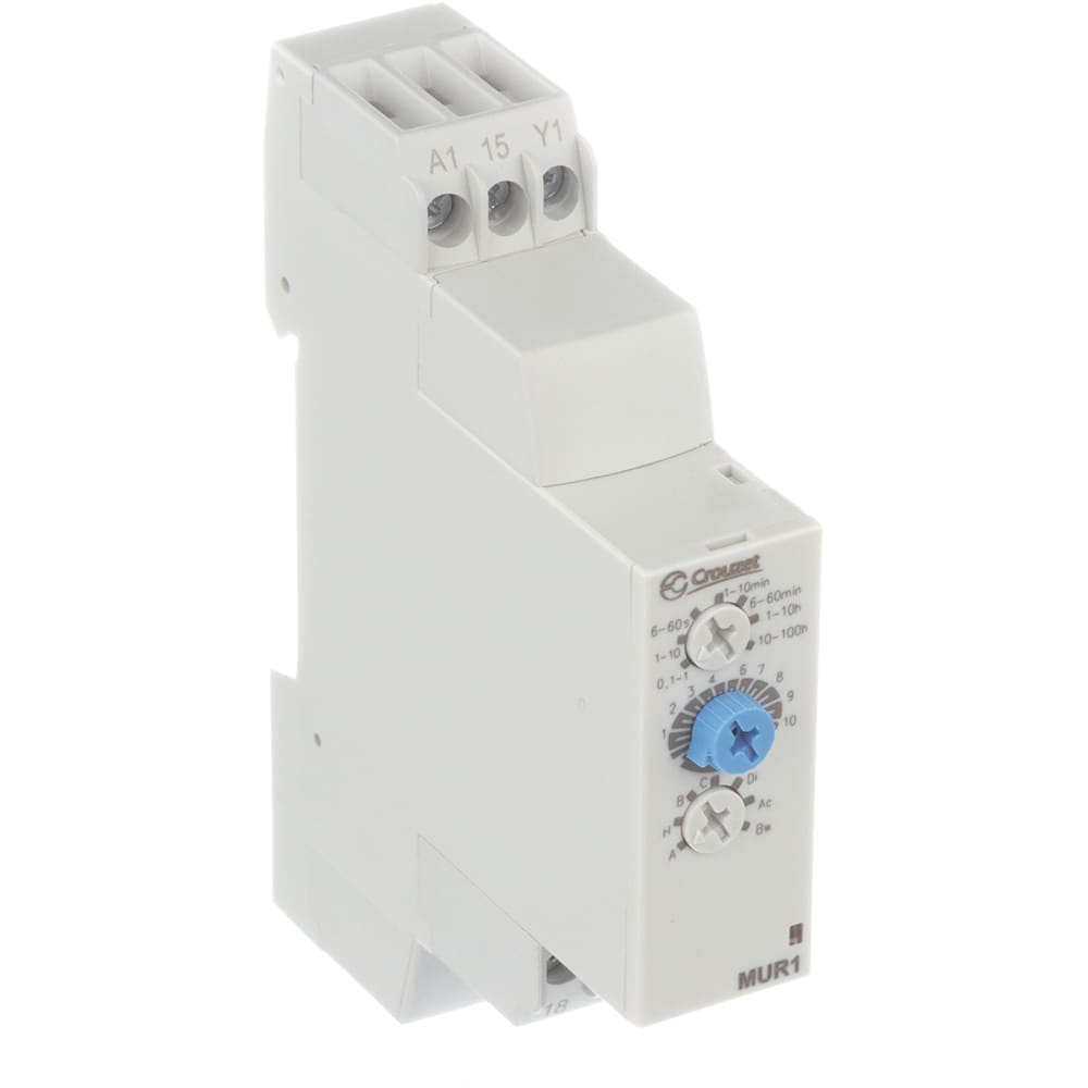 Crouzet 88827105 Timer Relay Mur1 Multifunction 24vdc Solid State 24 240vac Allied Electronics Automation