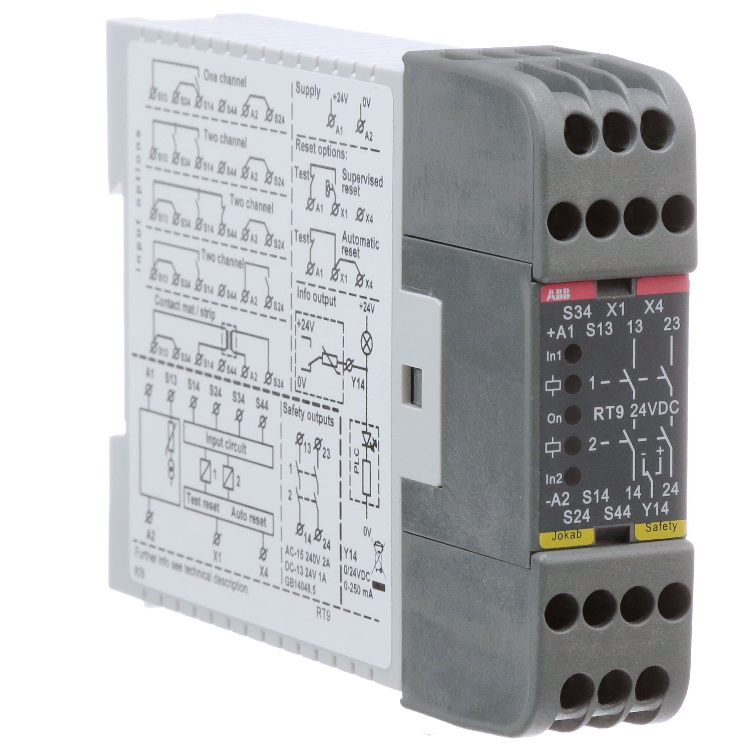 2TLA010029R0000 Abb Solid State Relay Wiring Diagram on