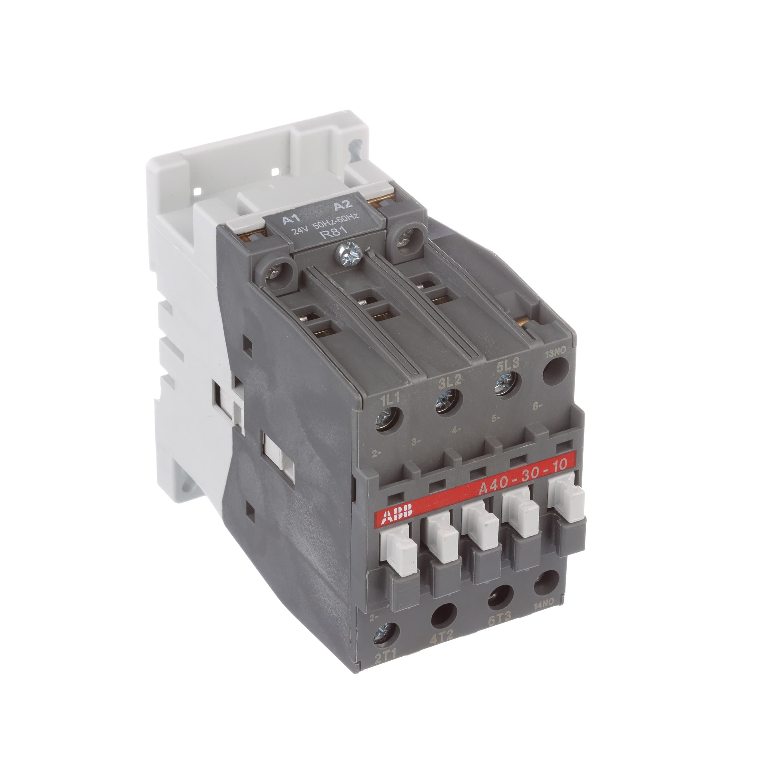 Abb A30 30 10 81 3 Pole Contactor 50 A Hp 550 To600v Solid State Relay Wiring Diagram Ac 75 240v Dc 24v Coil Allied Electronics Automation