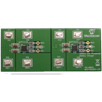 Microchip Technology Inc  - MCP73X23EV-LFP - LiFePO4 Battery