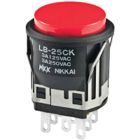 NKK Switches LB25CKW01-C