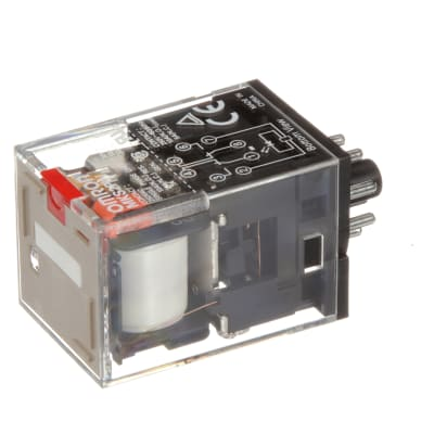 Details about  /Power Relay MK2P-I DC 12V Coil DPDT 8 Pin With Plug-in Terminal Socket /&