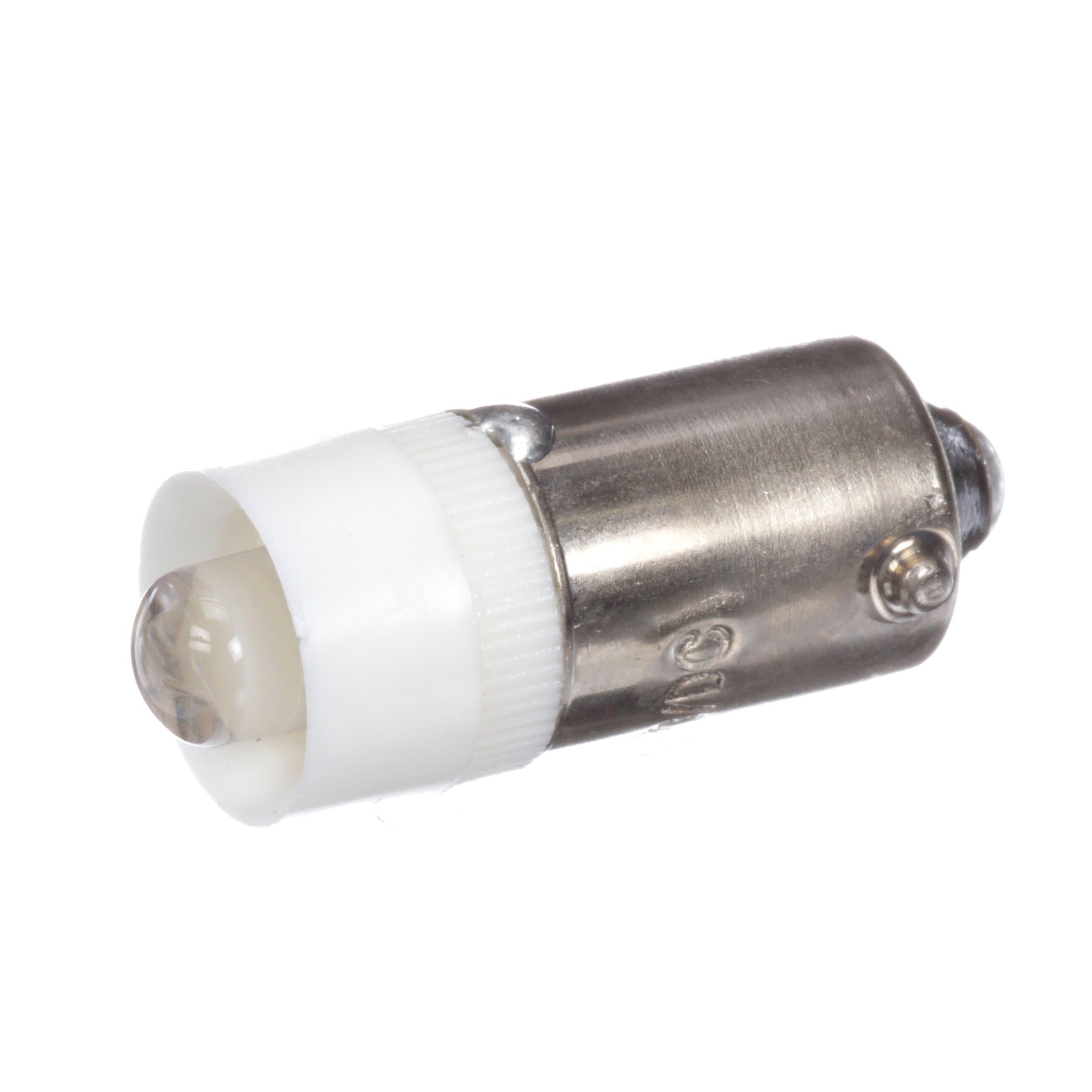 Lot of 4 EIKO LED-24-BA9S-W 24-28VAC//DC T3-1//4 BA9S Base LED Color White
