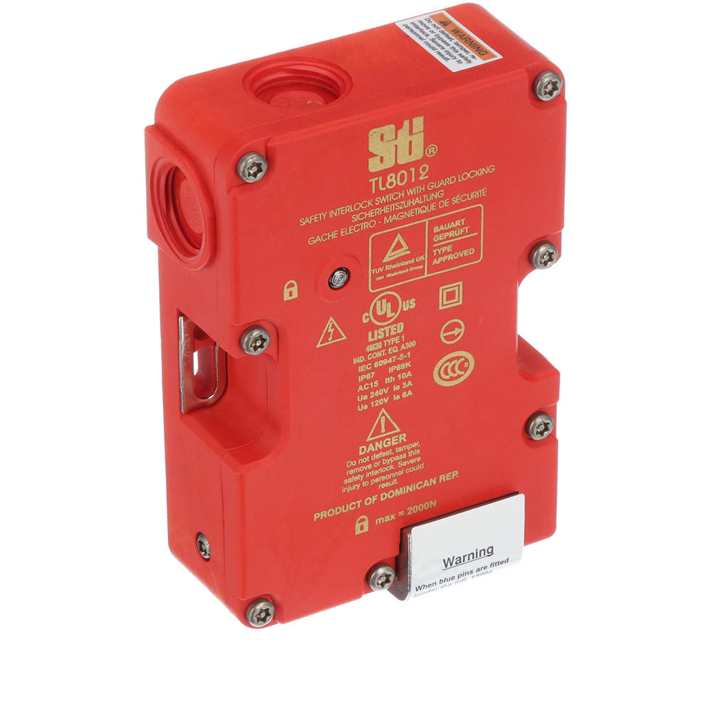 NEW STI now OMRON TL8012-S Compact Tongue Operated Safety Interlock Switch