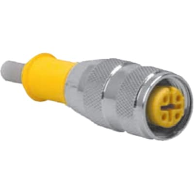 TURCK - RK 4.5T-5 - Cordset, M12 Female to Cut-end, Gray, 5 cond., 5  meters, Eurofast Series - Allied Electronics & Automation | Turck 12 Pin Wiring Diagram |  | Allied Electronics