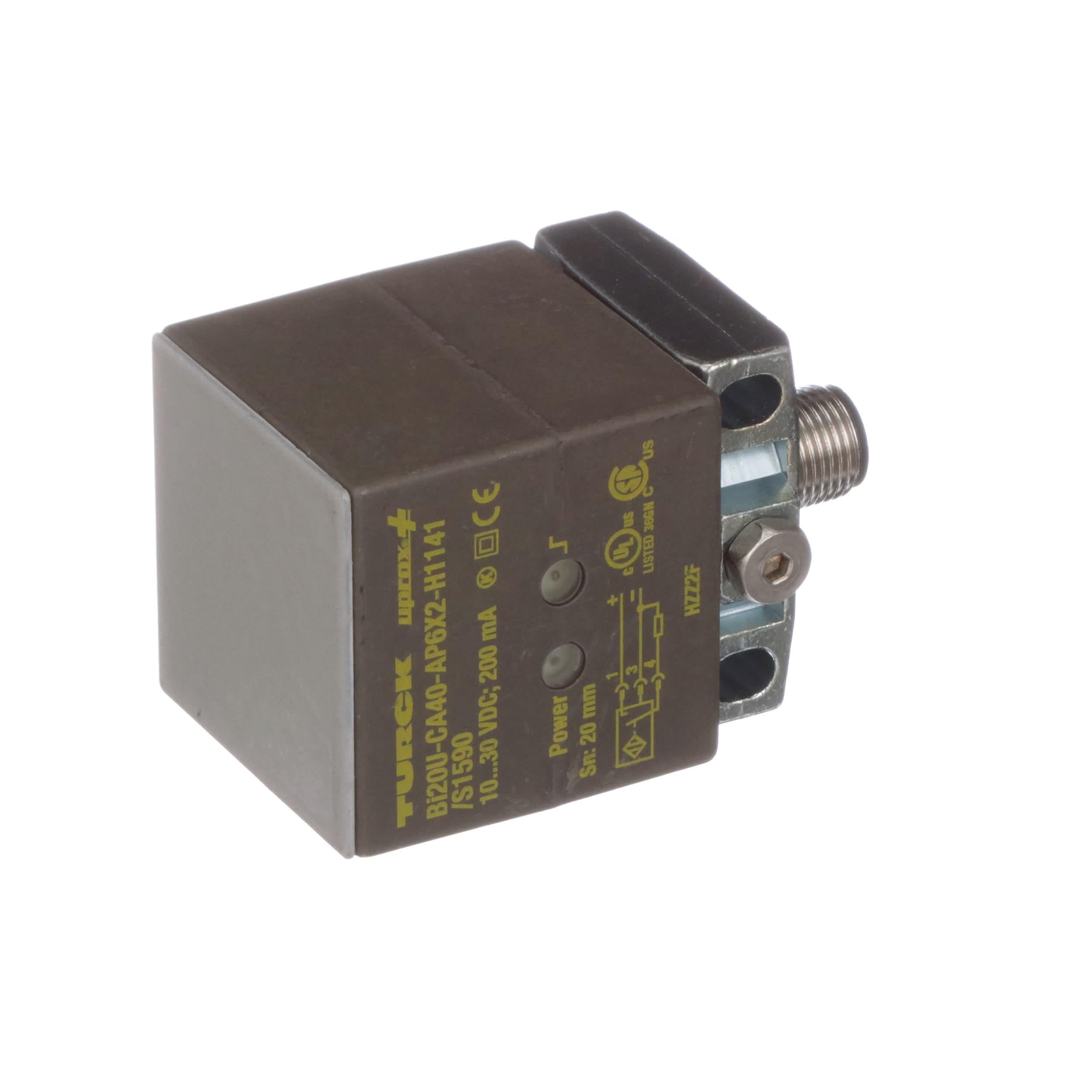 Details about  /Turck BC20-Q20-AP4X2-H1141//S400 Capacitive Sensor 2530103