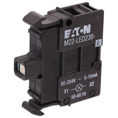 verde 1x moeller Eaton rmq-Titan leuchtmelder m22-led230-g 85-264v AC