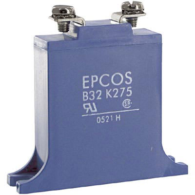 EPCOS - B72232B271K1 - Varistor, 275 Vrms/350 VDC, 710 V, 25000 A @ 8/20  us, Metal Oxide, Screw - Allied Electronics & Automation