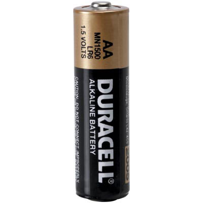 Duracell Mn1500bkd Battery Non Rechargeable Aa Alkaline Manganese Dioxide 1 5vdc 2 85ah Coppertop Allied Electronics Automation