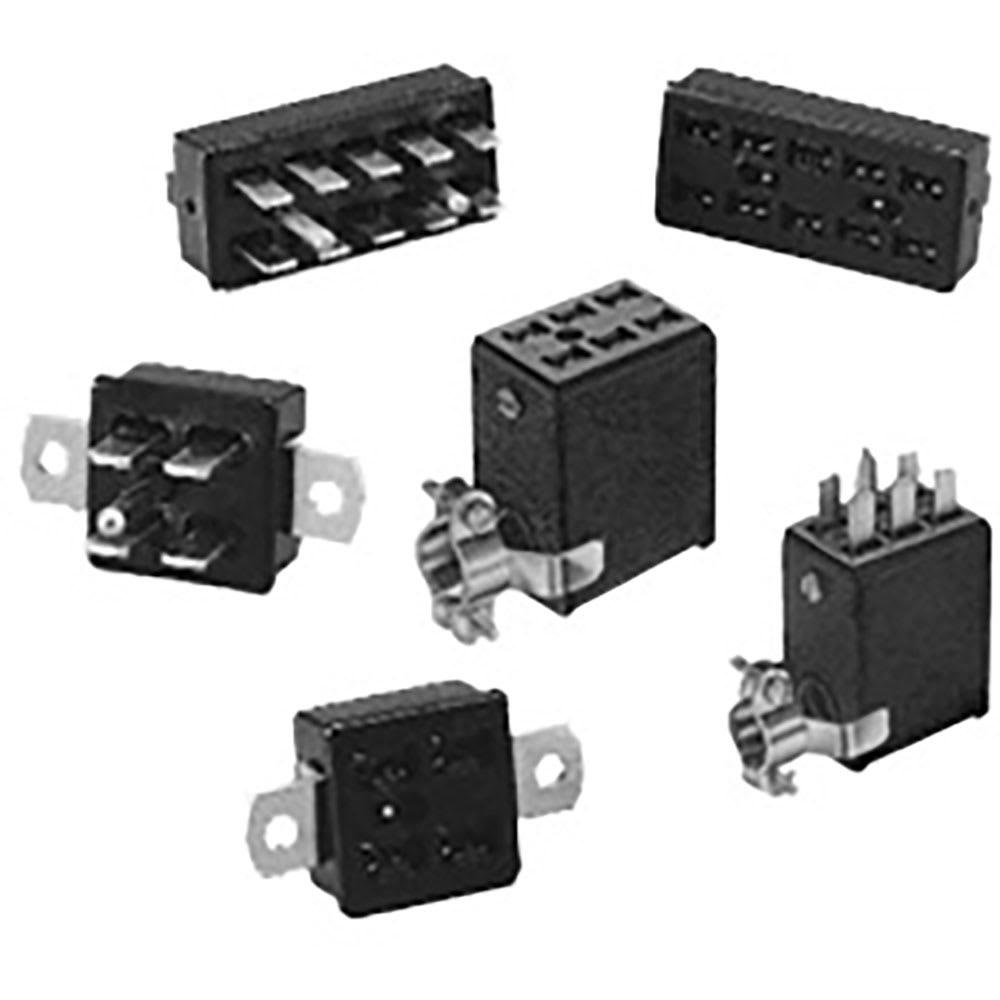 CINCH JONES BEAU MOLEX P-2406H-CCT POWER CONNECTOR PLUG 6 PIN Set METAL HOOD