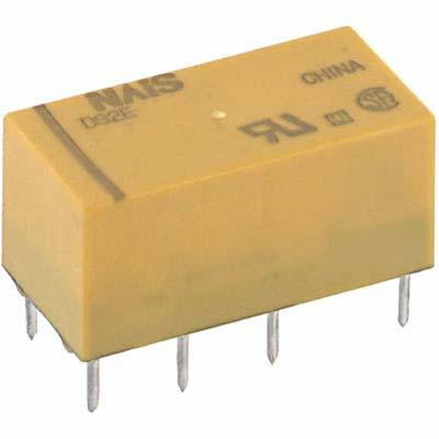 DS2E-S-DC24V 2A Panasonic Coil Voltage 24VDC Through Hole DPDT NAIS Relay