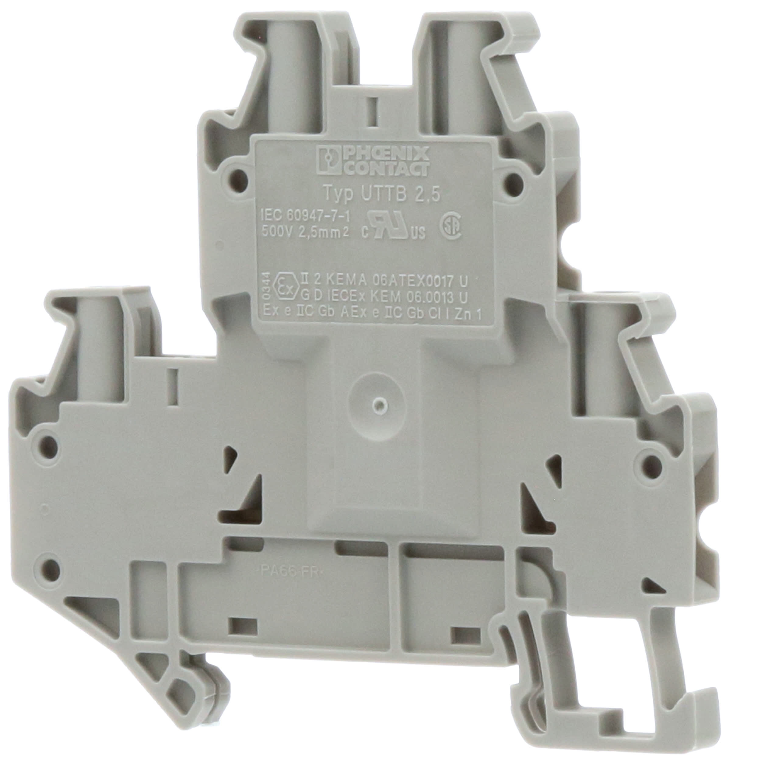 Phoenix Contact more stock-Clamp UT 2,5-3L GREY TRANSIT terminal blocks